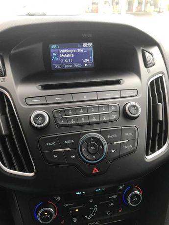 Штатная (родная) магнитола - головное устройство SYNC 1.1 Ford Focus 3