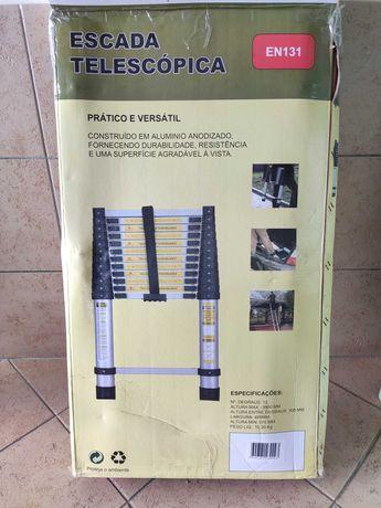 Escadas telescópicas NOVAS