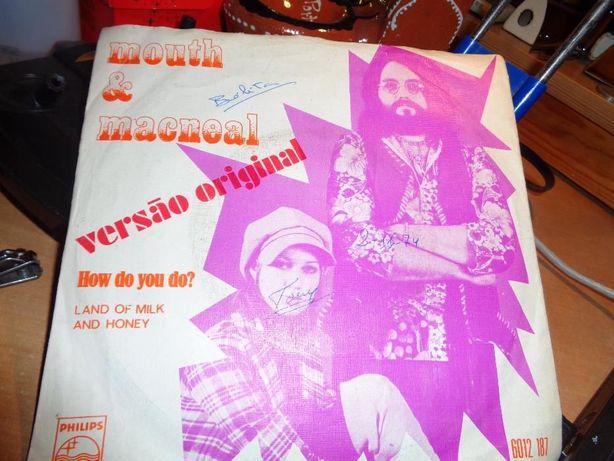 Disco Single Mouth & Macneal versão original How do you do? usado