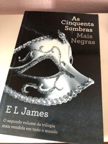 Livro As Cinquenta Sombras