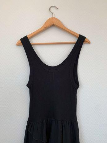 Śliczna sukienka z falbankami Zara rozmiar M