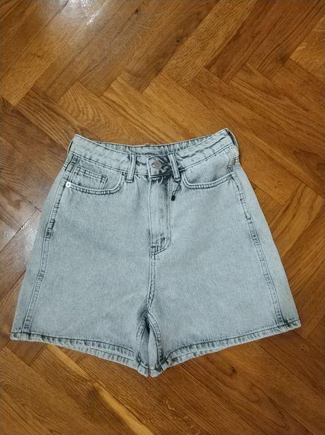 Джинсові шорти джинсовые шорты xs-s