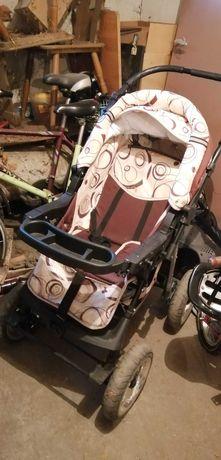 Wózek dziecięcy spacerówka z gondolą kompletny