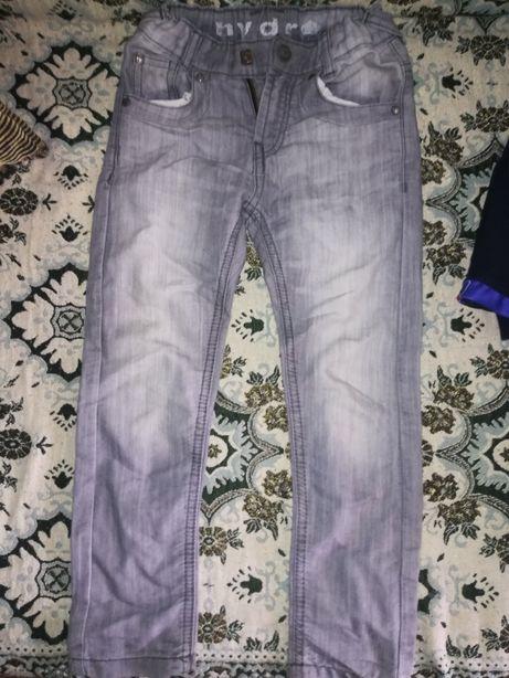Джинсовые шорты на мальчика 5-6лет Штаны катоновые 116 размер легкие