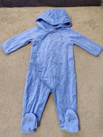 Флисовый человечек с капюшоном Baby Gap 9-12 мес.