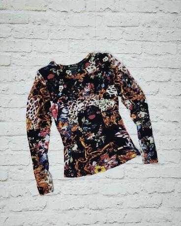 Кофта блузка рубашка лонсглив Roberto Cavalli Guess