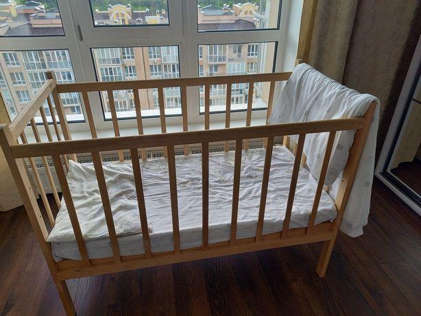 Срочно кроватка детская с приданым