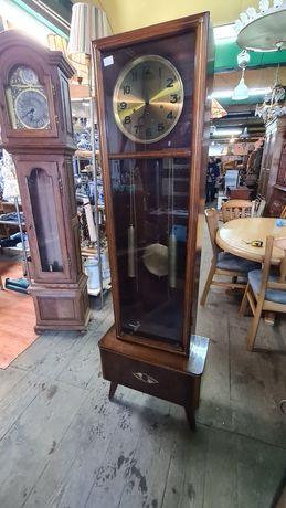 Zegar stojący prl vintage loft