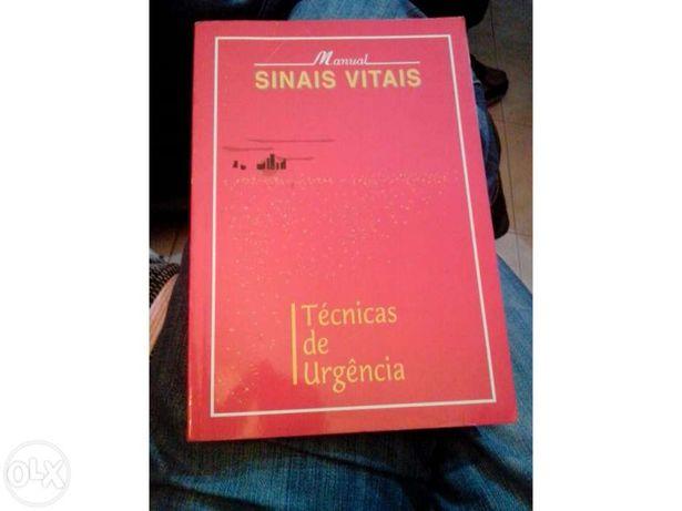 Manual Sinais Vitais - Técnicas de Urgência (portes incluídos)