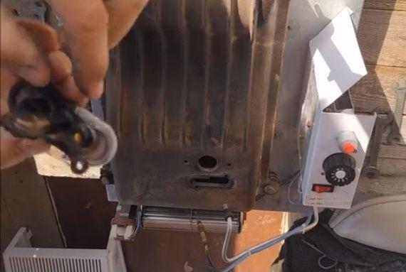 Чистка, ремонт котла, конвектора
