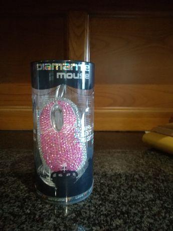 Rato / Mouse SATZUMA Diamante Rosa
