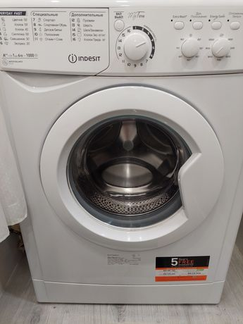 Новая стиральная машина indesit A++ машинка пральна