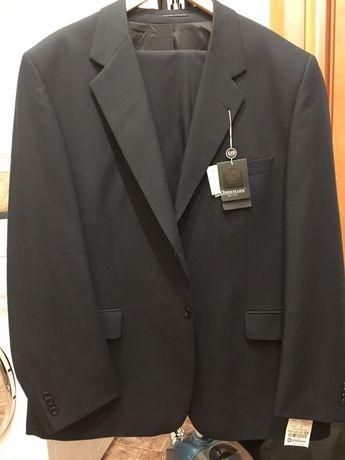 Костюм мужской классический черный 64 размер xxxl