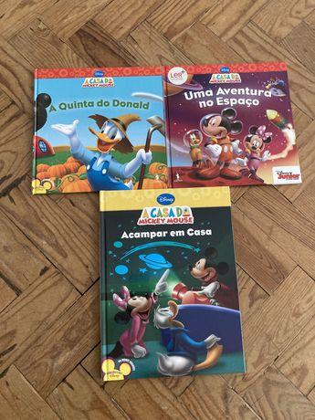 Livros infantis (mickey mouse)