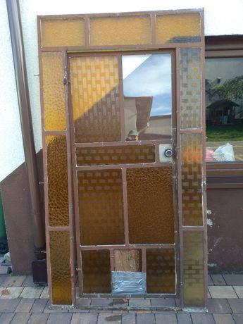 Drzwi do szklarni metalowe