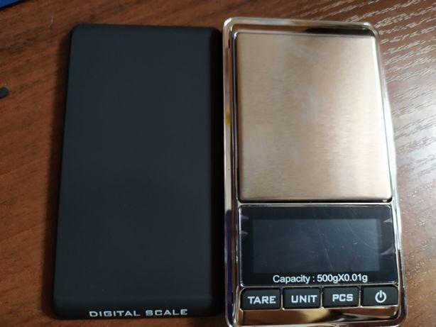 Весы ювелирные для золота с цифровым дисплеем с 0.01 гр до 500 г