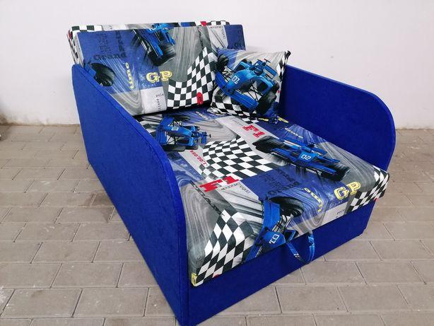 Sofa fotel długie boki łóżko dla dzieci wzory bajkowe i wiele innych
