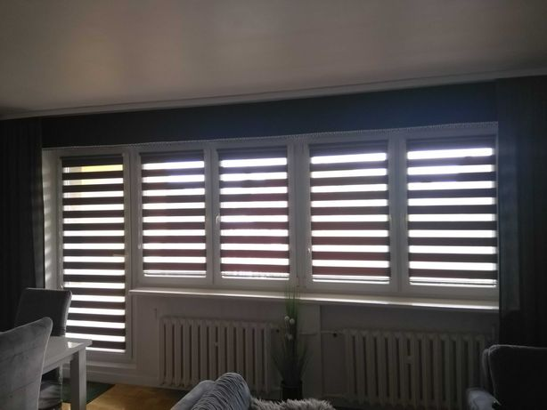 Okno Pcv balkonowe+2 zwykle z demontażu. Długość całkowita 400cm