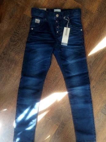jeansy dla dziewczynki r152
