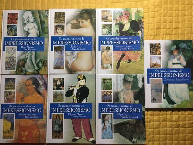 Grandes Mestres do Impressionismo (7 volumes)