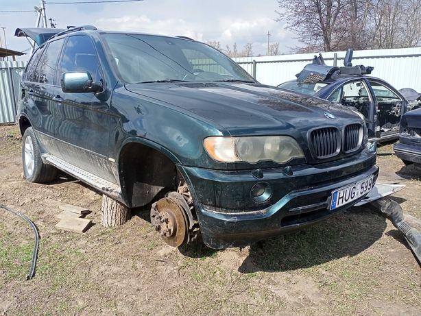 BMW e53 X5 m57d30/m62b44 разбор бампер. капот. крило запчасти