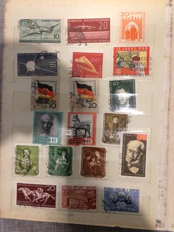 Znaczki pocztowe -mieszane
