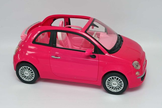 Auto samochód Fiat 500 dla lalki Barbie
