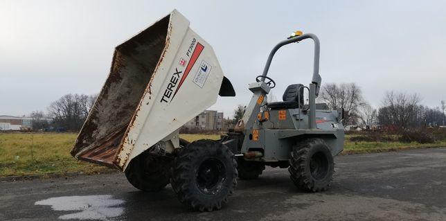 Wozidło TEREX PT3000 Benford 3 tony 2006 rok silnik Kubota ŁADNE