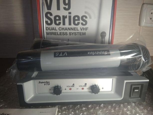 Радиосистема Superlux VT96EE (2 радиомикрофона+приемник)