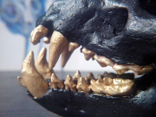 череп ласки декор