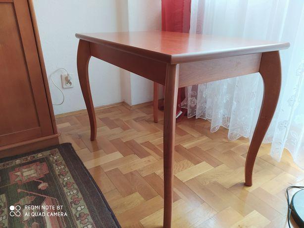 Stolik z elem. fornirowymi 80x50