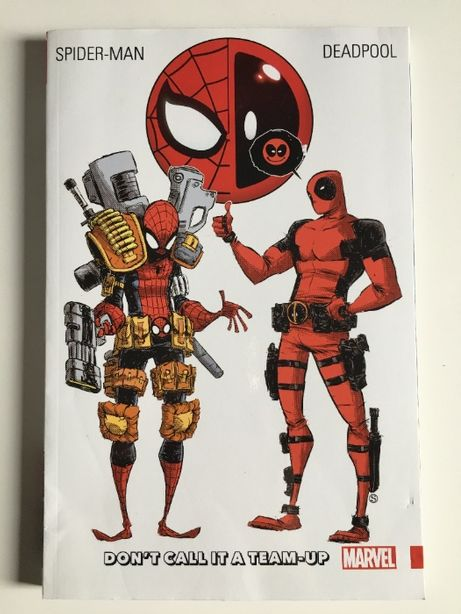 Spider-man Deadpool Don't Call It a Team-up 270+ stron