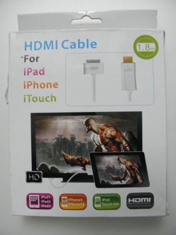 hdmi кабель для iphone ipad переходник для просмотра на телевизоре