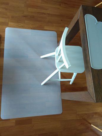 Ikea mata ochrona podłogi pod krzesełko 120x75cm.