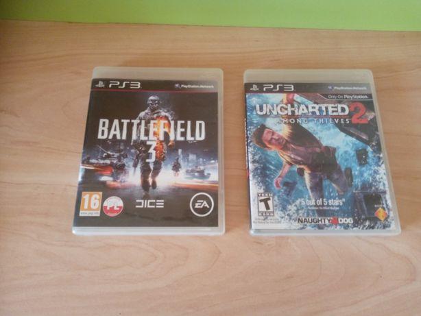 PS3 игры Battlefield 3 и Uncharted 2.