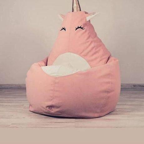 Мягкая мебель от производителя, кресло мешок, груша, овал, мяч, пуф