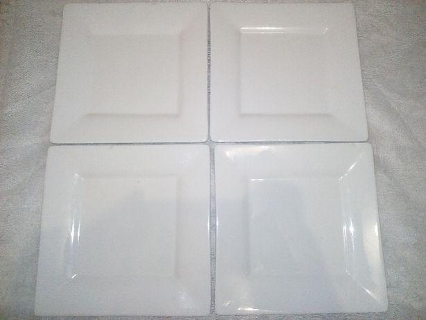 4 квадратные тарелки (с нюансами!) все за 50 грн