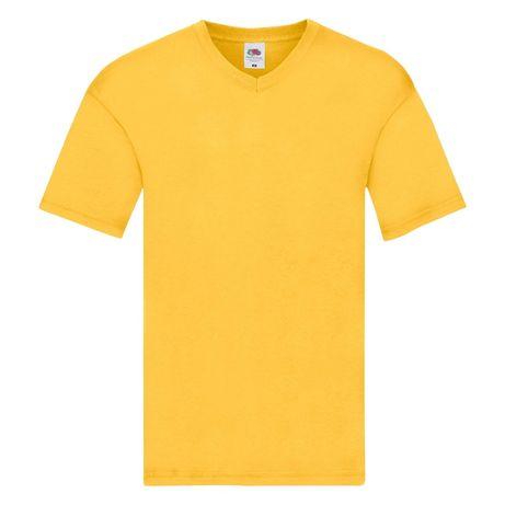 T-shirt męski w szpic FRUIT OF THE LOOM rozmiar M