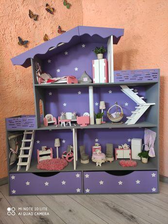 !Акция ! Большой Кукольный домик Barbie, ЛОЛ, Монстер Хай , Дисней!