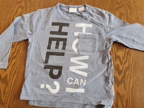 Koszulka z długim rękawem 98cm ZARA
