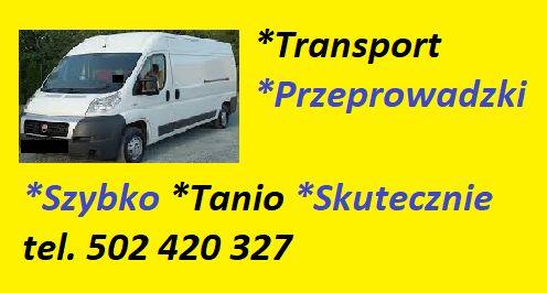 Transport * Przeprowadzki * Tanio