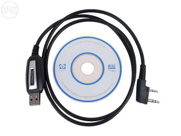 Cabo de programação USB para Radio Baofeng / Kenwood / Puxing