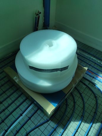 Taśma pianka dylatacyjna brzegowa 10 mm 20 cm 50mb