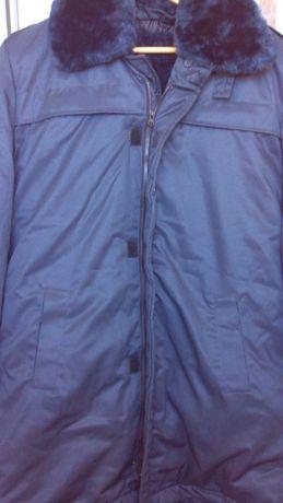 Синяя куртка военного образца, утепленная 50-52 р.