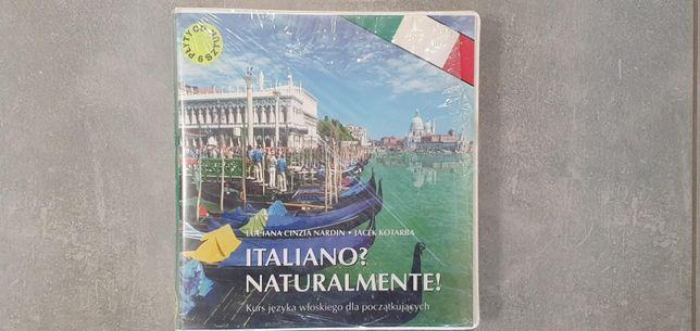 Kurs języka włoskiego dla początkujących na CD likwidacja hurtowni