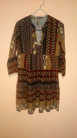 Włoska sukienka New Collection, rozmiar uniwersalny, jak nowa