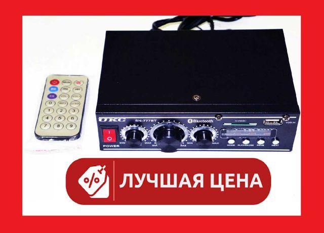 Усилитель звука UKC SN-777BT + БЛЮТУЗ