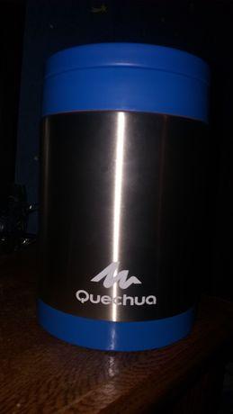 Quechua Food Box 2 L Nierdzewny Niebieski