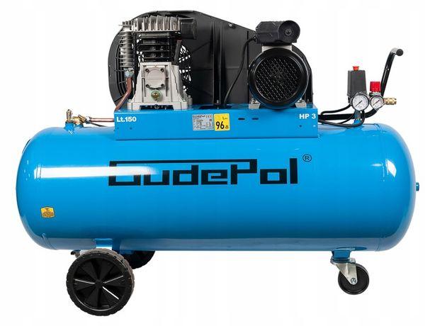 Kompresor olejowy 10 BAR 150L 2.2KW/ 400V - GUDEPOL