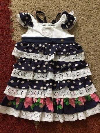 Новое платье ФанФан на 1-3 года